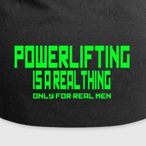 REAL THING Grün - Jersey-Beanie