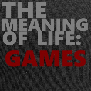 "T-Shirt ""The Meaning of Life"" - Jersey-Beanie"