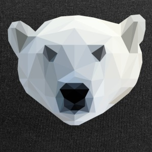 Low Poly 2D - IJsbeer - Jersey-Beanie