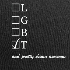 Womens / Trans and pretty damn awesome - Jersey-Beanie