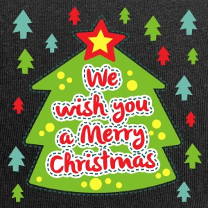 We wish you a Merry Christmas - Jersey Beanie