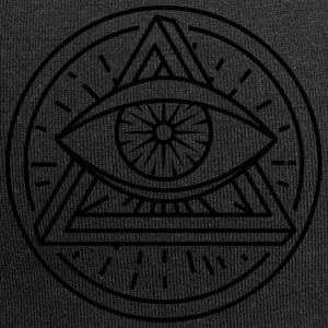 Eye of Providence med optisk illusion - Jerseymössa