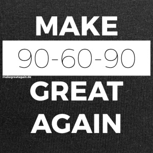 MAKE 90-60-90 GREAT AGAIN white - Jersey Beanie