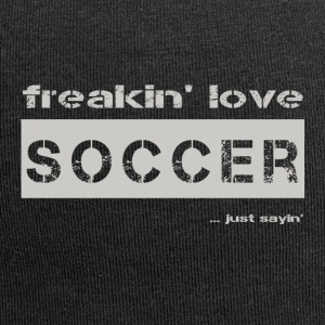 love SOCCER - bright T-shirt - Jersey Beanie