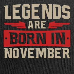 LEGENDS fødes i november - Jersey-Beanie