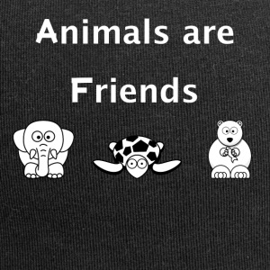 Animals are friends - Jersey-Beanie