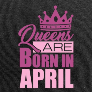 Queens are born in April! - Jersey Beanie
