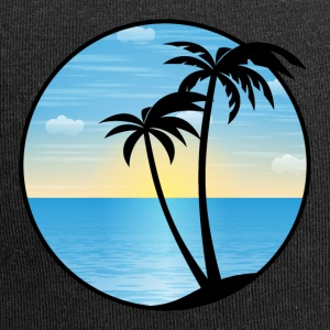 Palms vacances 01 Allround Designs - Bonnet en jersey