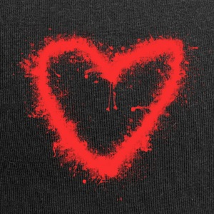 Spray-Cuore - Beanie in jersey