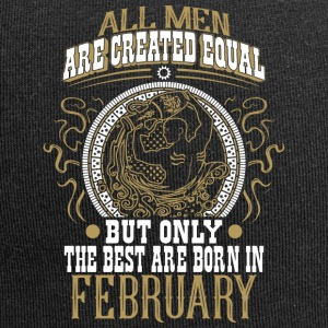 The best men are born in February - Jersey Beanie