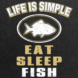 Eat Sleep Fish - Jersey Beanie