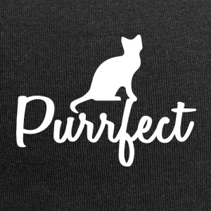 Cats are perfect - gift idea - Jersey Beanie