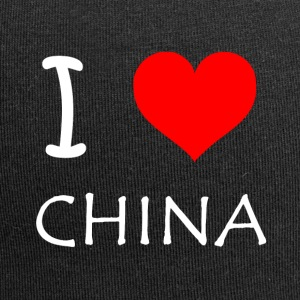 I Love CHINA - Jersey Beanie