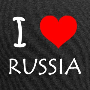 I Love Russia - Jersey Beanie