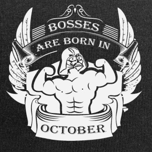 Bosses are born in October - Jersey Beanie