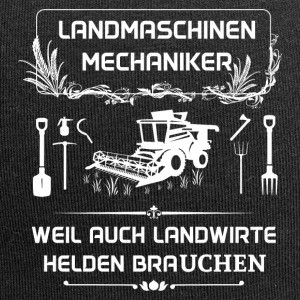 Landwmaschinenmechaniker - Because even farmers Hel - Jersey Beanie