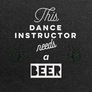 This_Dance-Instructor_needs_a_beer_T-Shirt & Hoody - Czapka krasnal z dżerseju