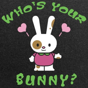 Easter Who's Your Bunny - Jersey Beanie