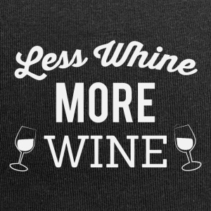 Less whine more wine - Jersey-Beanie