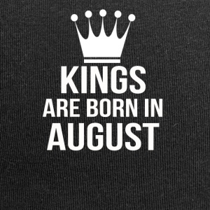 kings are born in August - Jersey Beanie