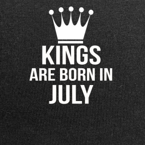 kings are born in july - Jersey-Beanie