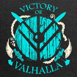 Victory or Valhalla (Viking Shirt) - Jersey Beanie