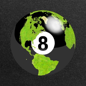 8-ball earth planet globe erde globus - Jersey-Beanie