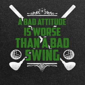 A bad attitude is bad golf - Jersey Beanie