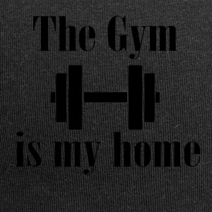 The Gym is my home - Jersey Beanie