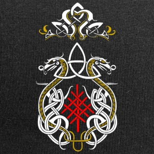 Viking drager triquetra - Jersey-Beanie