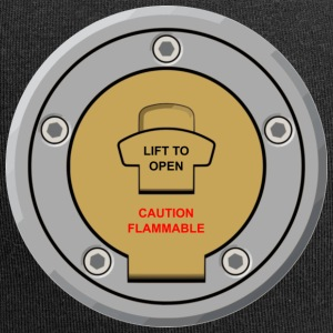 "Motorcycle Fuel Cap Design ""Lift to Open"" - Jersey Beanie"