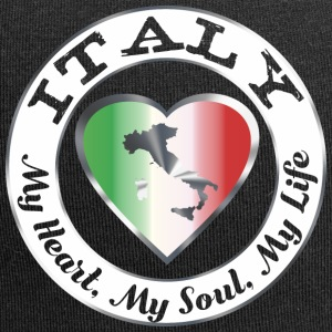 Italië - My Heart My Soul My Life - Jersey-Beanie