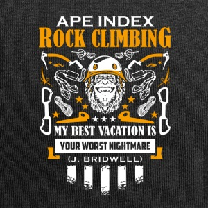 ApeIndex Rock Climbing Orange - Jersey Beanie