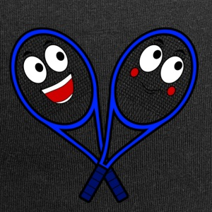 Cute Tennis Rackets - Jersey Beanie