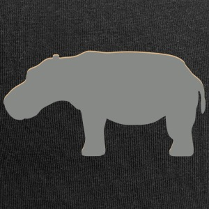 Hippo reale - Beanie in jersey
