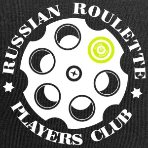 Russian Roulette Players Club logo 4 Noir - Bonnet en jersey