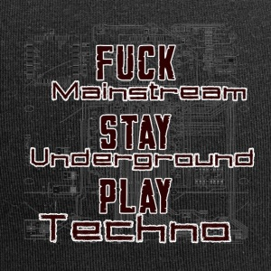 Play Techno - Jersey Beanie