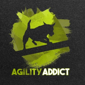 Agility Addict Green - Jersey Beanie
