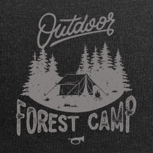 forest Camp - Beanie in jersey