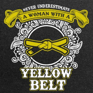 No woman with yellow belt - Jersey Beanie