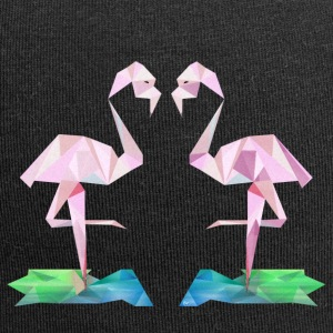 Low-poly Flamingos - Jerseymössa