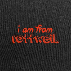 I am from Rottweil. - Jersey-Beanie