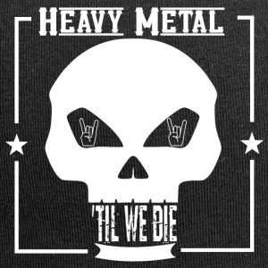 HEAVY METAL til we die - Jersey-Beanie