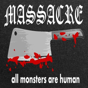 MASSACRE - all monsters are human - Jersey Beanie