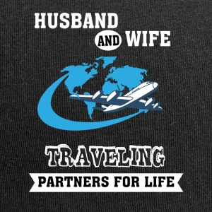 Husband And Wife, Partners for Life - Traveling - Jersey Beanie