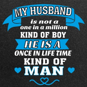 My Husband is One in Lifetime Kind of MAN - Jersey Beanie