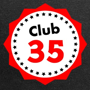 Club 35, gift for 35 year olds - Jersey Beanie
