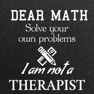 Dear math solve your own problems - Jersey-Beanie