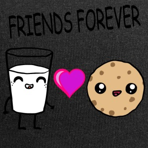 Melk og Cookie Friends Kawaii Design - Jersey-beanie