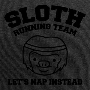 Sloth Team Funny Shirt - Jersey Beanie